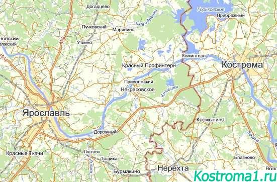 Ярославль - город Кострома